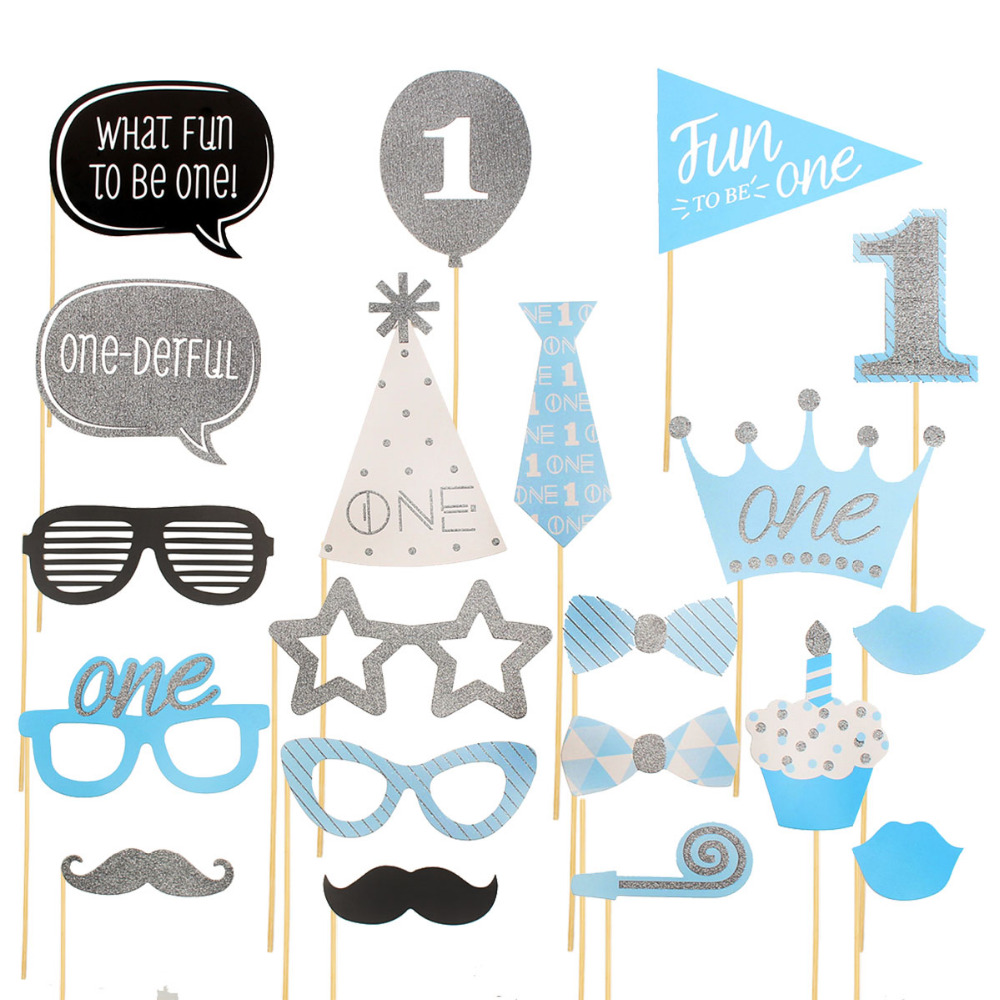 Birthday Party Decorations Photo Booth Props