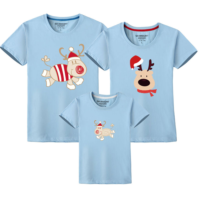 Christmas Family Matching T Shirts 11 Colors Available